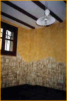 Ambientes r sticos decoraciones siglo xxi for Zocalos de fachadas fotos